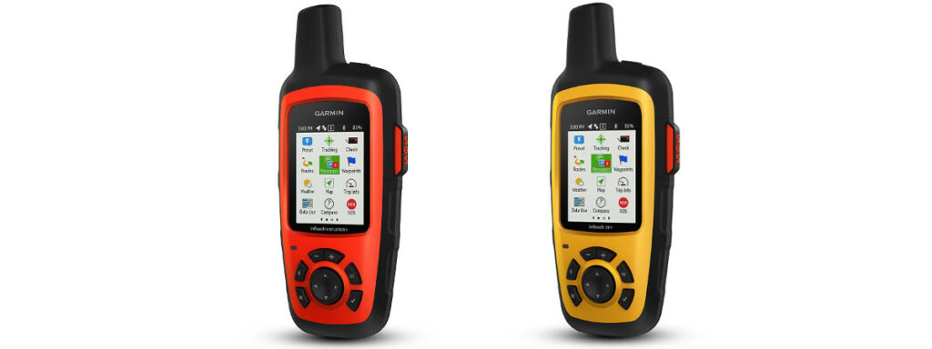 Garmin inReach - Left Explorer+, Right SE+