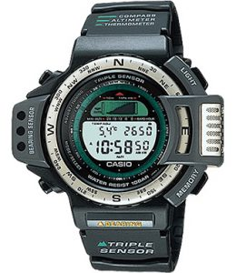 Casio Pro Trek ATC-1100 - The first outdoor watch ever built