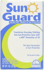 Sun Protective Clothing - By washing garments with SunGuard you can increase their UV protection