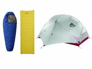 Hiking Sleeping Equipment Guide - The Basic Trio