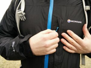 Montane Minimus Jacket - Chest pocket