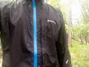 Montane Minimus Jacket - Good protection against the elements