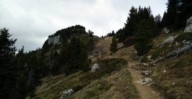 Moucherotte Trail – Path to the mountain shelter