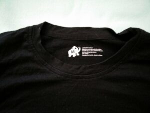 Woolly Ultralight Merino T-Shirt - Label