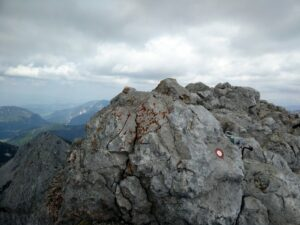 Stol Hochstuhl Trail - On the top