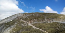 Stol Hochstuhl Trail – Path to the peak