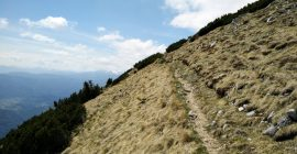 Stol Hochstuhl Trail – Getting back to the starting point