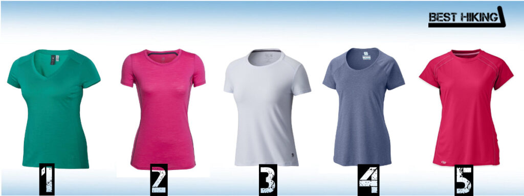 Best Hiking T-Shirts for Women