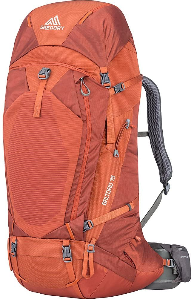 Mooedcoe 75L Large Hiking Backpack Outdoor Sports Water-Resistant Travel Daypack Mountaineering Climbing Trekking Camping Rucksack with Rain Cover