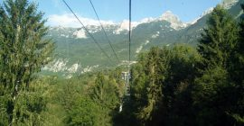 Kanin Trail – Ascending with the cable car