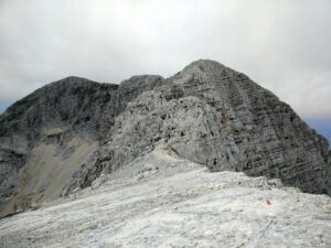 Kanin Trail - The peak is seen