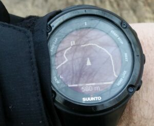 GPS Track on Suunto Ambit 2 Watch