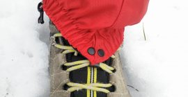 How to put on gaiters 3