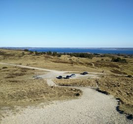 Mols Bjerge Trail - View from the highest point
