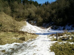 Mols Bjerge Trail – Tiny bit of snow