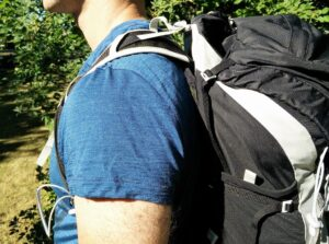 How to fit a backpack - Shoulder straps