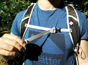 How to fit a backpack - Sternum Strap