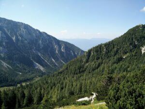Vrtaca Trail – After the mountain hut