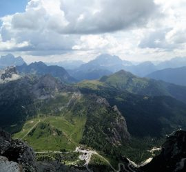 Passo Falzarego – Lagazuoi Trail The Top