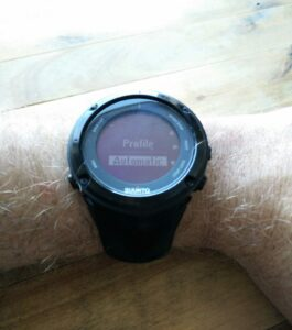 Suunto Watch Barometer - Settings (Suunto Ambit 2)