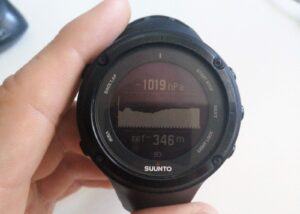 Suunto Watch Barometer - Unstable Weather (Suunto Ambit 2)