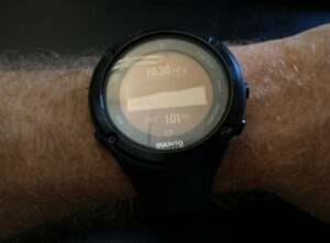 Suunto Watch Barometer - Weather is improving (Suunto Ambit 2)