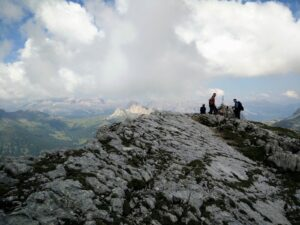 Croda Negra Trail - The top