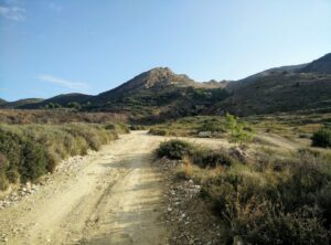 Skopos Trail - Dirt Road