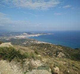 Skopos Trail - View on Zante