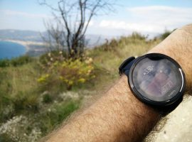 Suunto 9 Baro – Hiking mode altitude graph