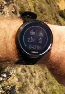 Suunto 9 Baro - Hiking mode first display