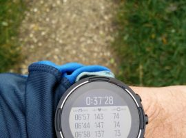 Suunto 9 Baro – Running mode each kilometer analysis