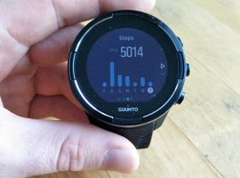 Suunto 9 Baro – Step counter