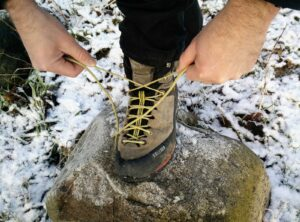 How to prevent blisters - Lace your boots tighter around the forefoot