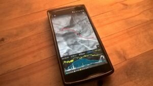 Route planning on a smartphone is a hassle!