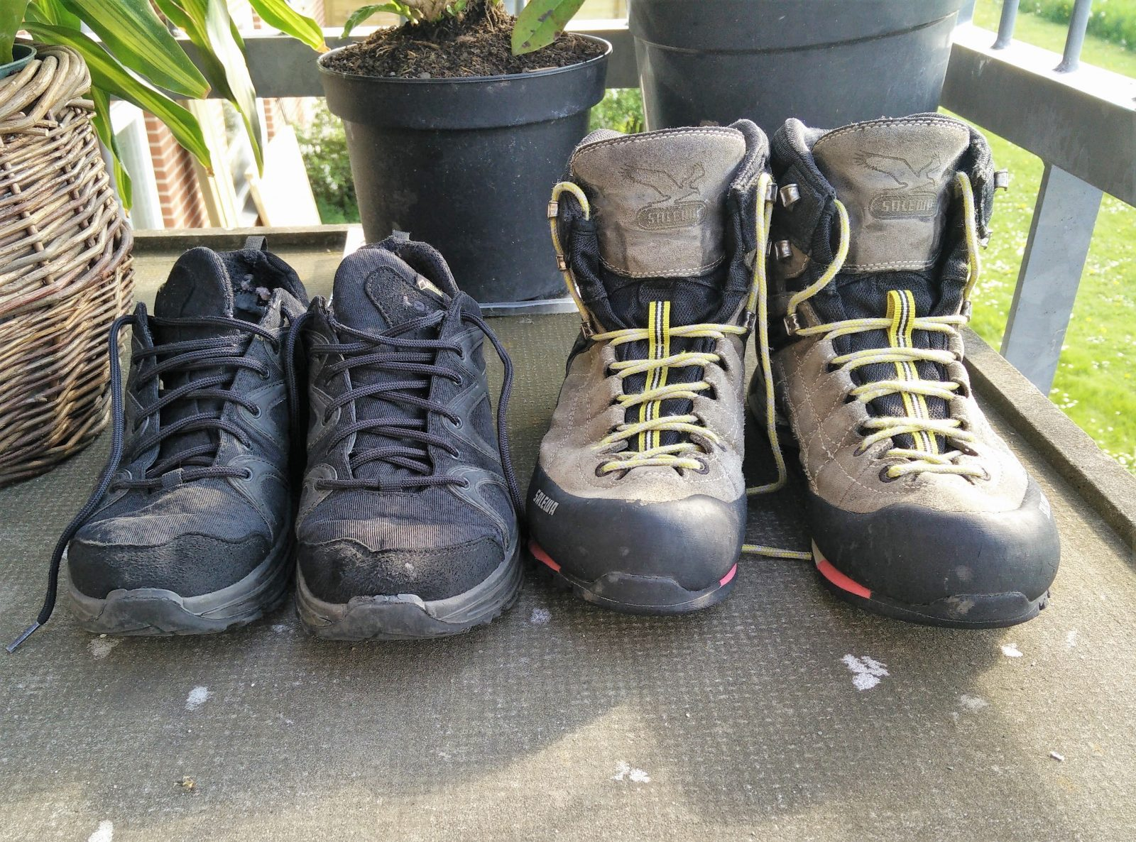 Hiking Boots vs. Hiking Shoes vs. Trail Runners: Which type ...