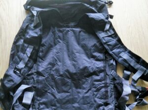 Trexad Air Pack - Deflated Back Panel