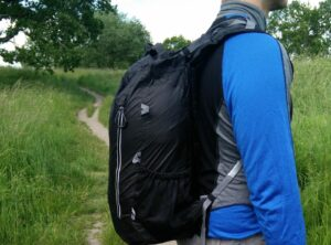 Trexad Air Pack - While hiking