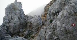 Ojstrica Trail – Scrambling is required
