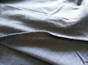 Formal Friday Merino T-Shirt - It doesn't have flatlock seams but I haven't noticed any chafing so far
