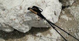 Montem 3K Carbon Trekking Poles – I mostly used them on rocky terrain