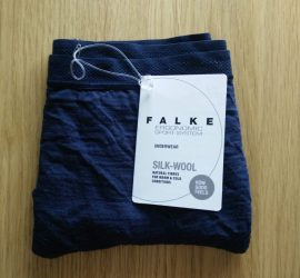 Falke Silk-Wool Underwear unboxed