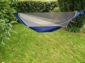 Kammok Mantis Hammock Tent - Hanging without the rainfly