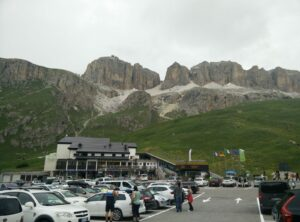 Sass Pordoi - Passo Pordoi is the starting point