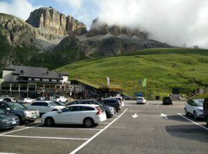 Piz Boe Trail - The starting point at Passo Pordoi