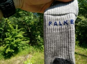 Falke Tk2 Wool Silk Socks - Legs and Cuffs