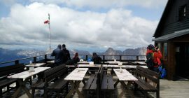 Piz Boe Trail – The terrace on the top