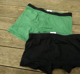 Wama Men's Hemp Underwear: Wama Boxer Briefs and Wama Trunks below