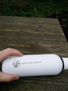 Apex International Water Bottle - The capacity of 500 milliliters is perfect in terms of size and weight