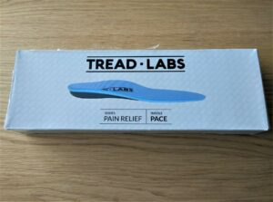 Tread Labs Pace Insole - Packaging